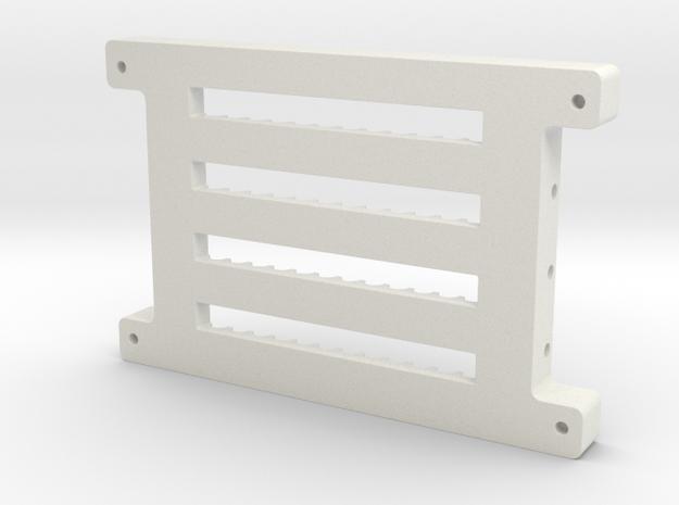 SoporteSBs SBLaser Print3D in White Natural Versatile Plastic