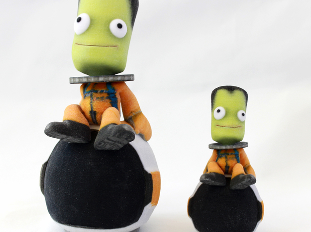 Stargazing Kerbal 3d printed Compare sizes