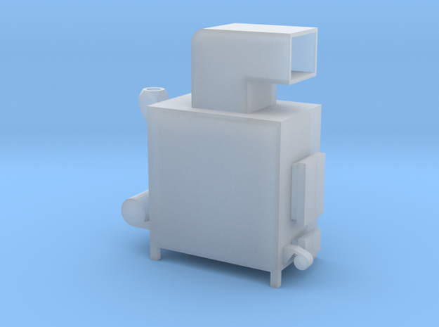 1/64 Wood Stove in Smooth Fine Detail Plastic
