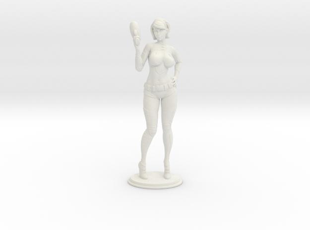 Spacegirl Lana - 54mm in White Strong & Flexible