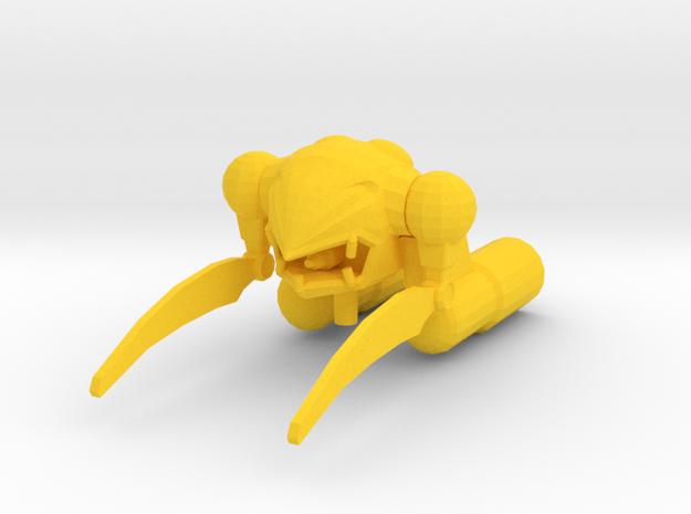MA-04X Zakrello 1:1000 in Yellow Processed Versatile Plastic