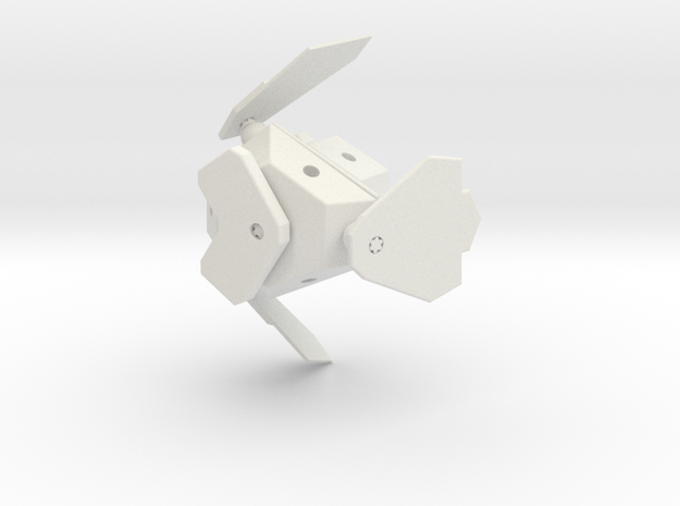 G.O.B.O. Bluebird in White Natural Versatile Plastic