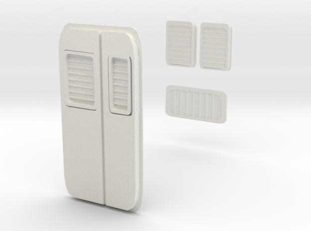 Rb 540 Lüfter Set Ersatzteil in White Natural Versatile Plastic: 1:120