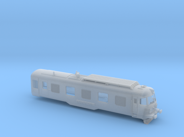 ÖBB Transalpin Triebkopf001 Scale TT in Smooth Fine Detail Plastic: 1:120