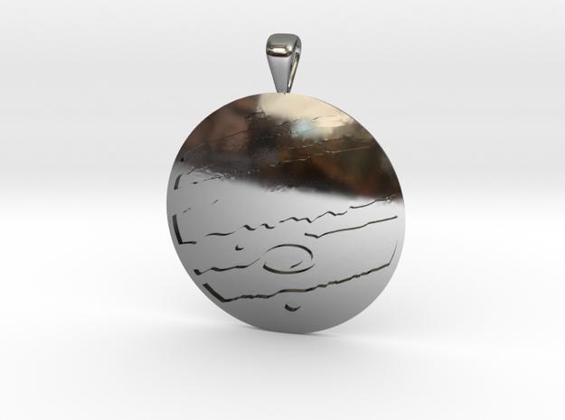Jupiter in Fine Detail Polished Silver