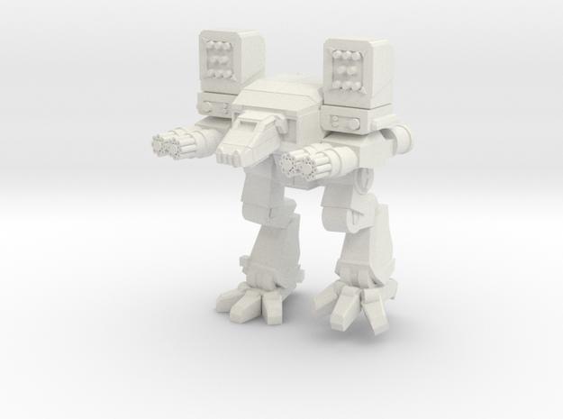Mad Dog 2 in White Natural Versatile Plastic