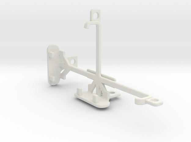 Panasonic T45 tripod & stabilizer mount in White Natural Versatile Plastic