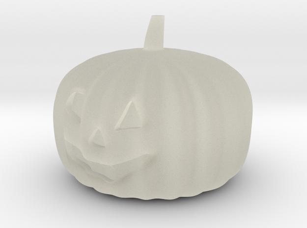 Halloweem pumpkin with flashing RGB LED and CR2032