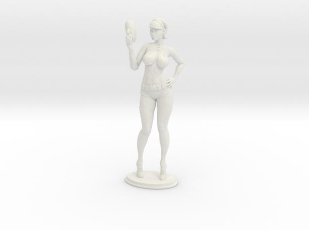 Mini Lana in White Natural Versatile Plastic