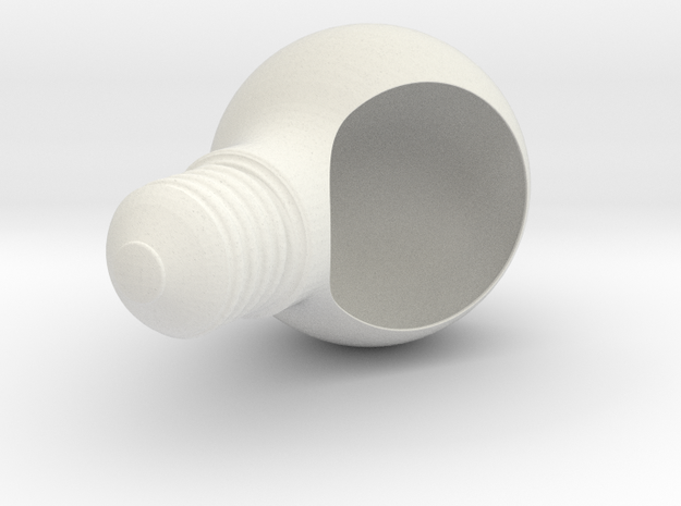 Plantpot in White Strong & Flexible: Medium