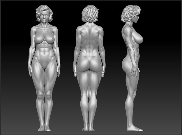 Fitness Girl Scale In 32mm