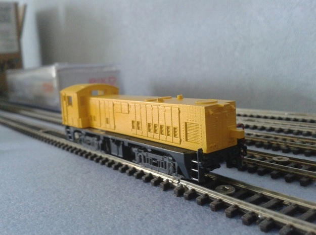 Videoschouwtrein VST 07-1 of 07-2 schaal N in Smooth Fine Detail Plastic