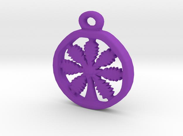 California Weedy Mcweed in Purple Processed Versatile Plastic