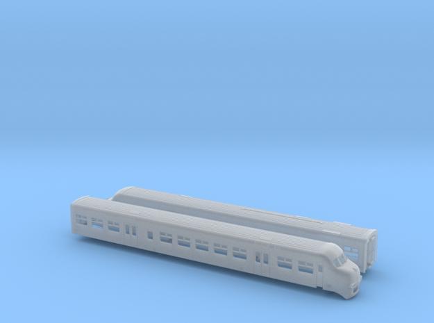 Plan V, gereviseerd (1:160 & 1:220) in Smooth Fine Detail Plastic: 1:160 - N