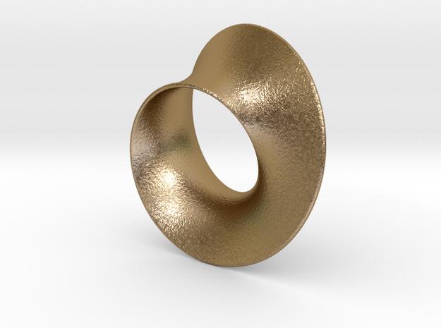 Minimal Mobius steel and aluminum (2¾ in)
