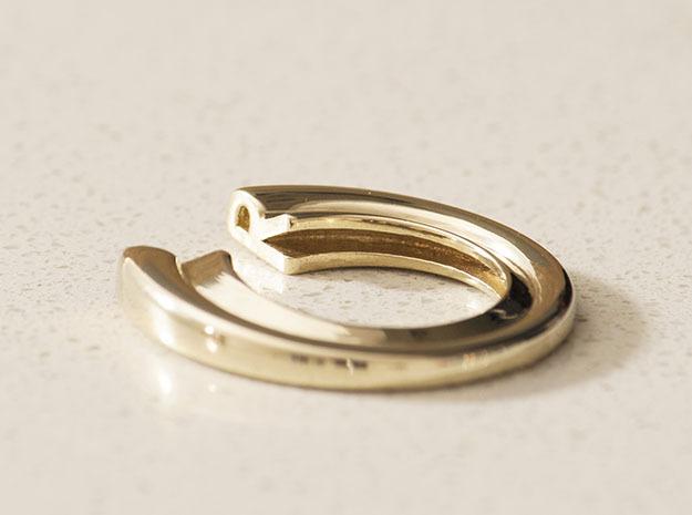 R Letter Ring