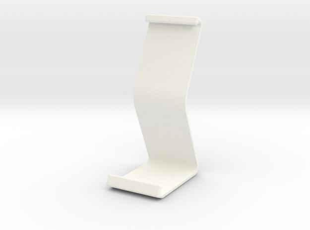 Ipad Stand V1 in White Processed Versatile Plastic