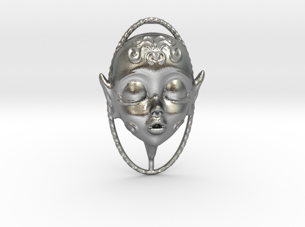 Skydoll Fae Parfume Pendant in Natural Silver