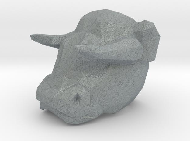 Bull Ring 0.75 in in Polished Metallic Plastic