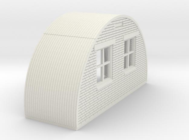 N-76-back-end-brick-nissen-hut-right-door-1a in White Natural Versatile Plastic
