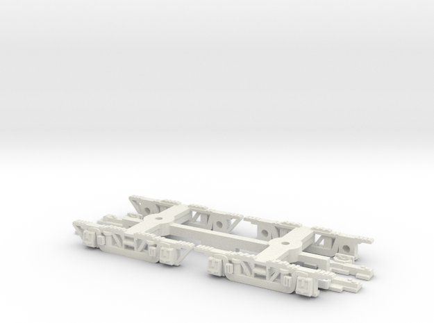 CTA 4000 Series Trucks in White Natural Versatile Plastic