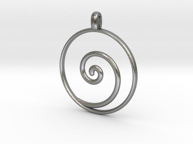 KORU Maori symbol Jewelry Pendant