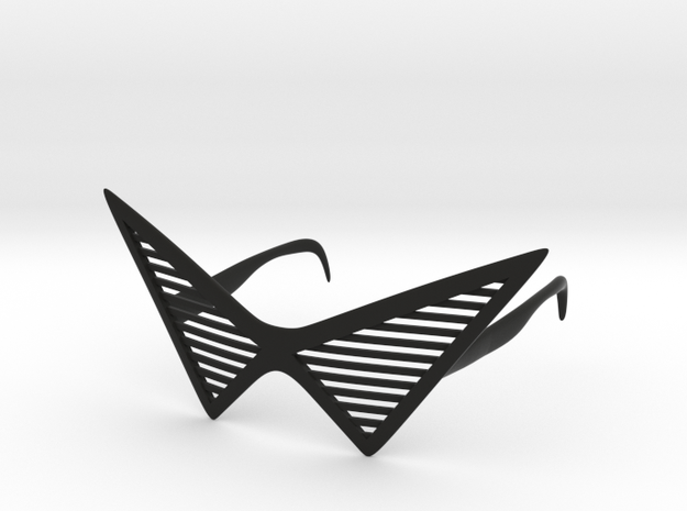 Triangle Glasses in Black Strong & Flexible