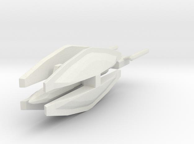 NTF 1/7000 Kobayashi Maru in White Natural Versatile Plastic