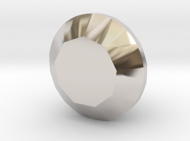 Shapeways Most expensive Diamond in Platinum