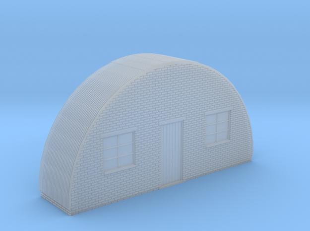 Low Relief Nissen Front in Smooth Fine Detail Plastic