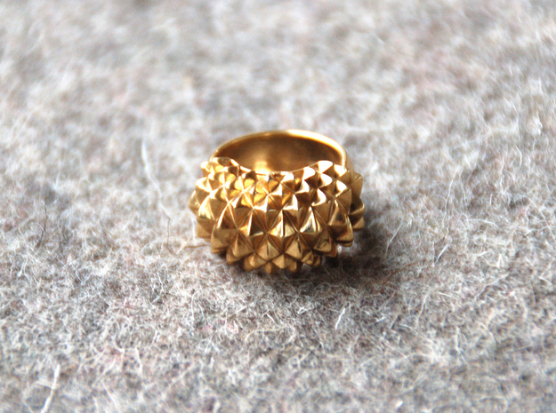Ring Studs Bolder in 14k Gold Plated