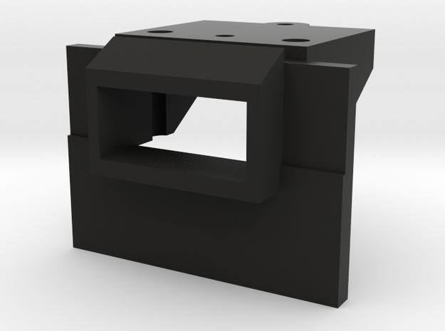 Atlas O Scale EMD GP35 Coupler Mount (Solid) in Black Natural Versatile Plastic