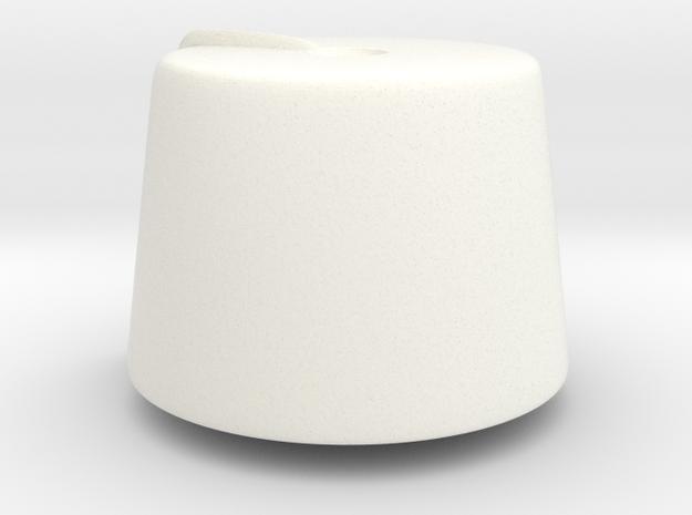 Fez (tbn) in White Processed Versatile Plastic