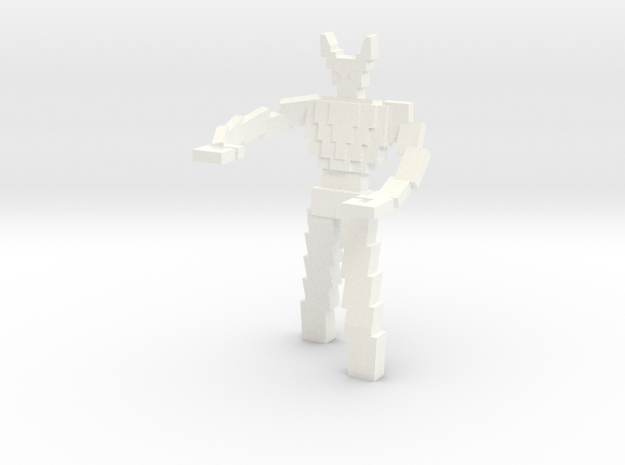 Heroclix Videoman in White Processed Versatile Plastic