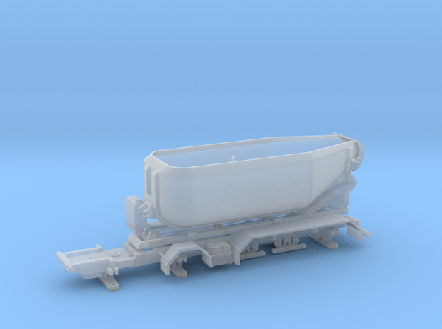 Mulde 5a Scania in Smooth Fine Detail Plastic