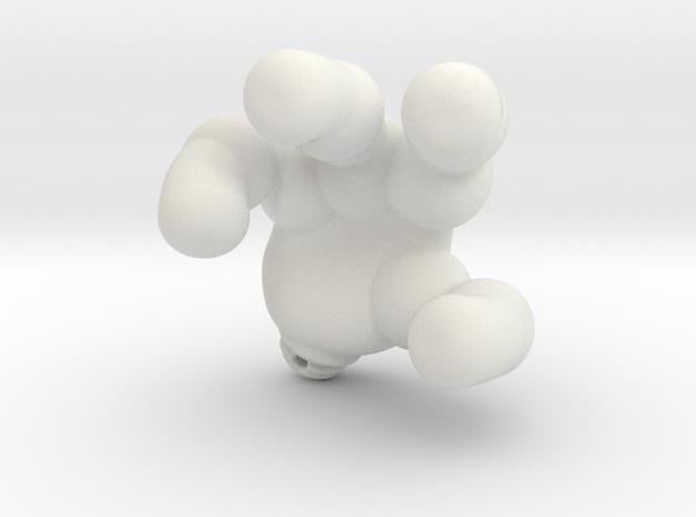 googie robot hand in White Natural Versatile Plastic