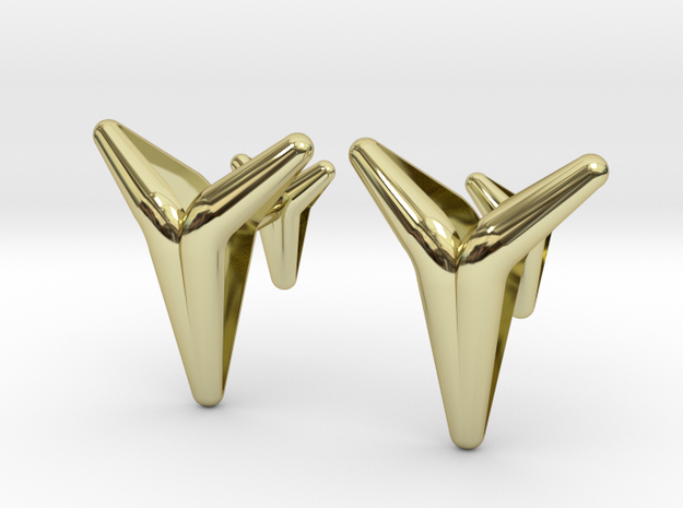 YOUNIVERSAL Smooth & Sharp Cufflinks.
