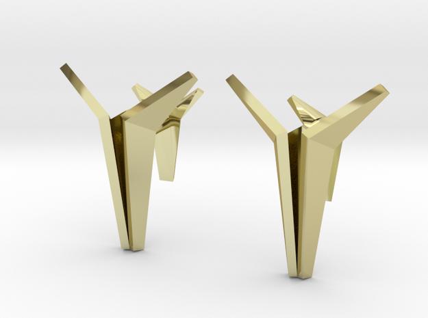 YOUNIVERSAL Origami Cufflinks
