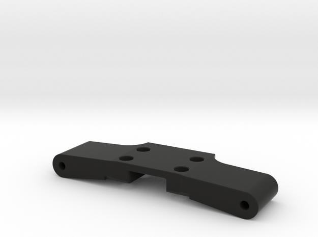 GF5 Front Bulkhead in Black Natural Versatile Plastic