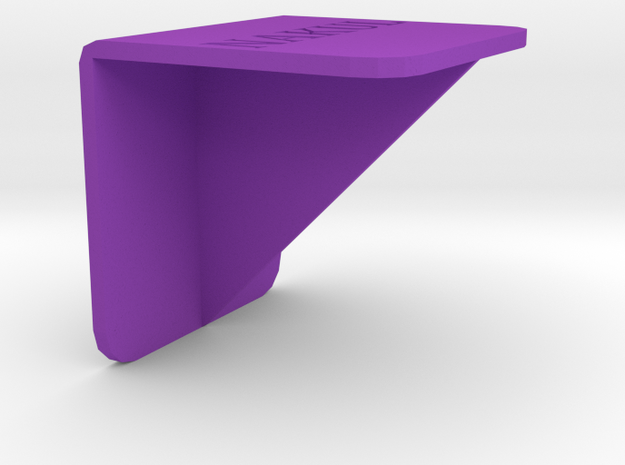 Bookclip Large in Purple Processed Versatile Plastic