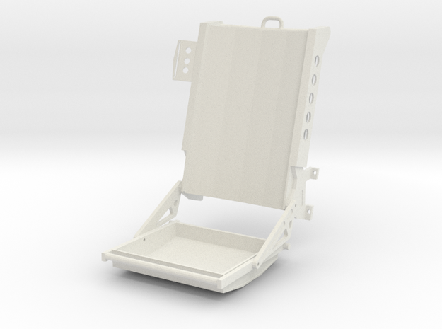 Seat - Wessex helicopter in White Strong & Flexible
