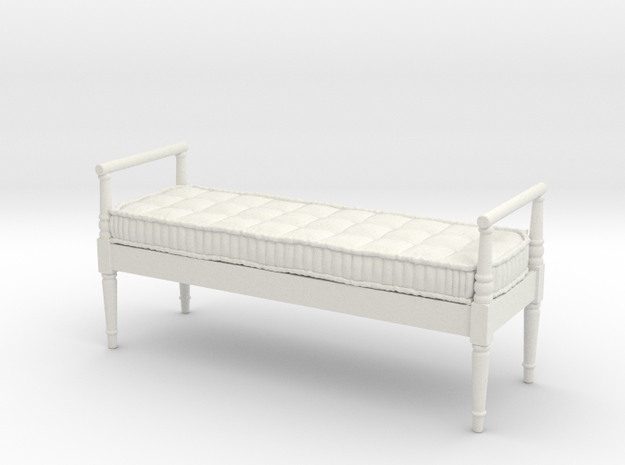 1:24 French Country Bench