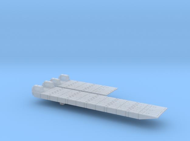 1/600 Scale British Army Mexeflote Powered