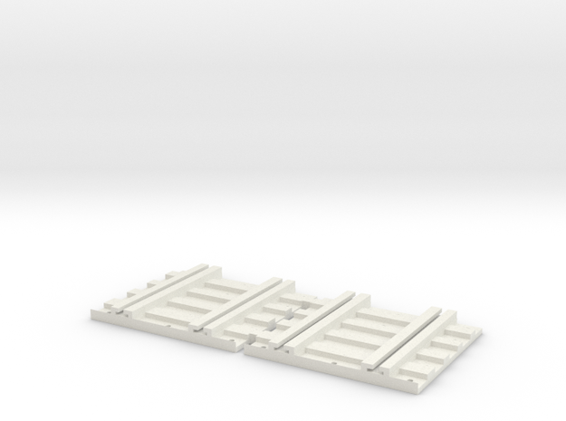 X-165-b2b-track-joiner-1a in White Natural Versatile Plastic