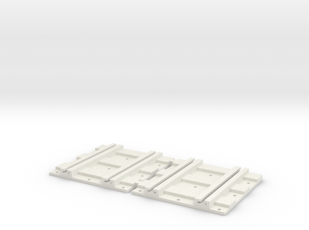 X-165ng-b2b-track-joiner-1a in White Natural Versatile Plastic