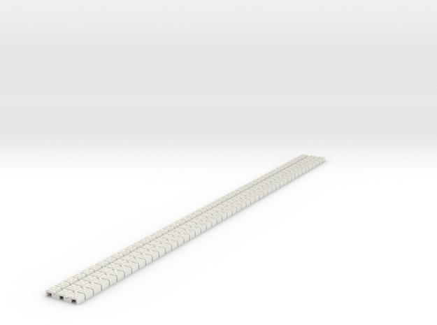 P-9stw-flexi-tram-track-100-x48-1a in White Natural Versatile Plastic