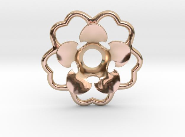 Rosette Collar Flower