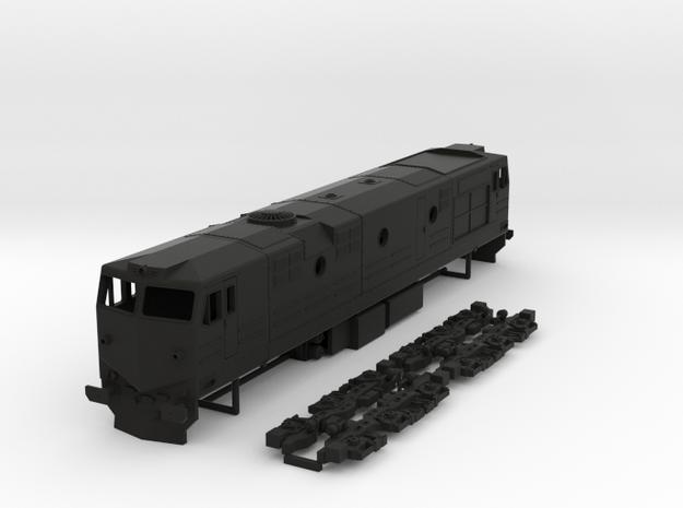 RenFe 1900 Class 1:87 Scale in Black Natural Versatile Plastic