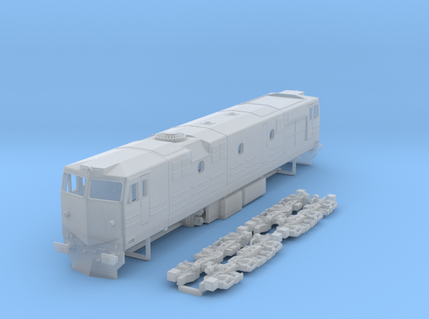Renfe 1900 class 1:160 in Smooth Fine Detail Plastic