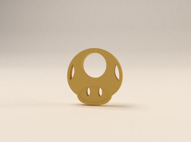 Mario Mushroom 3d printed